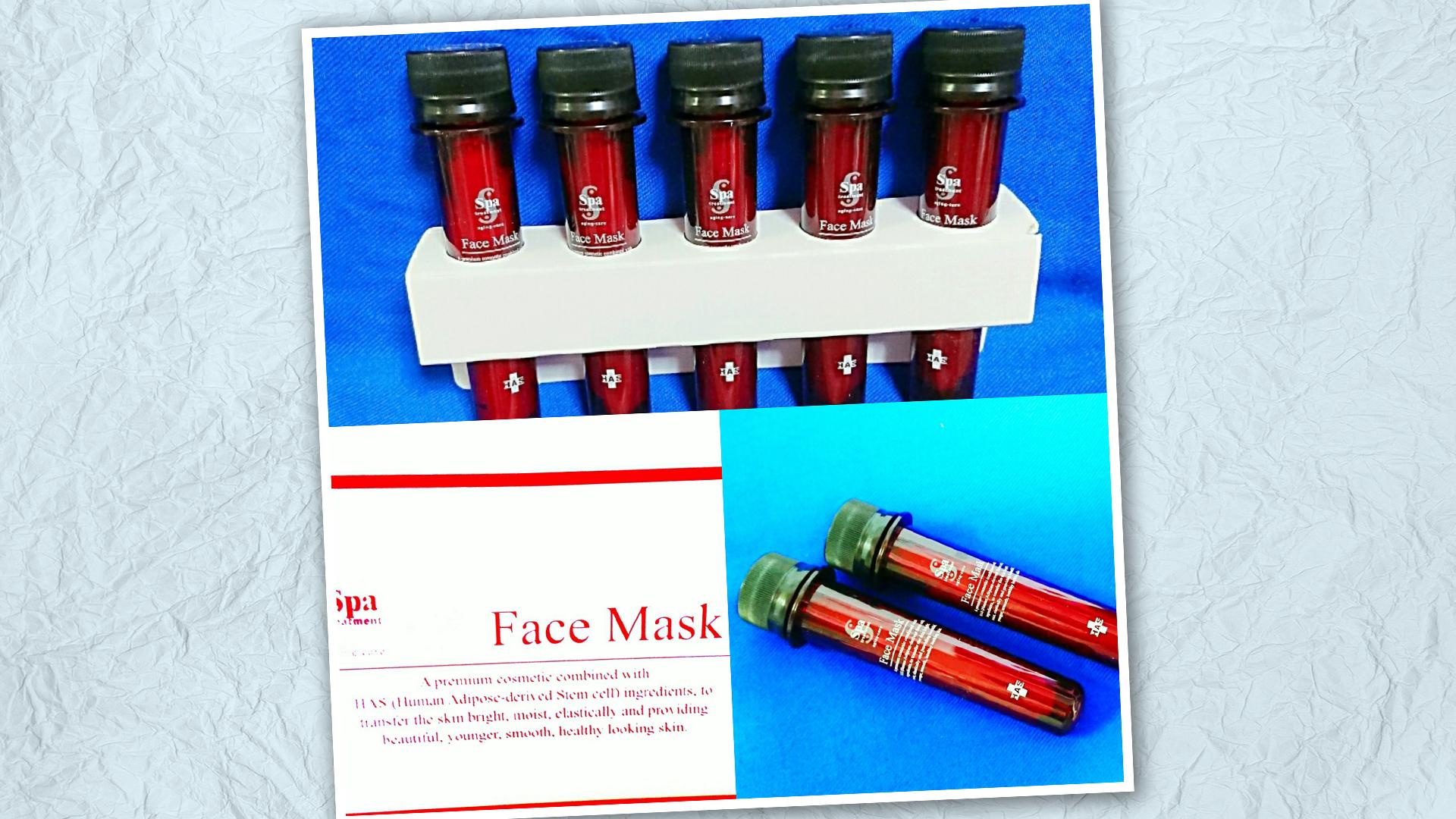 Spa treatment(スパトリートメント)HASフェイスマスク/シートマスク・カッサプレート